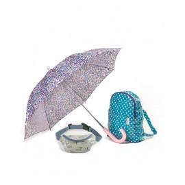 Parasol, plecak i nerka -zestaw birds Minikane