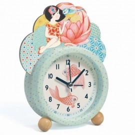 Klasyczny zegar - budzik Rybki, Djeco