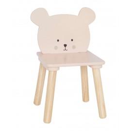 Drewniane krzesełko miś  Jabadabado