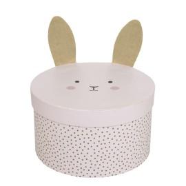 Okrągłe pudełka królik Jabadabado