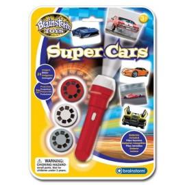 Projektor- latarka Super auta, Brainstorm