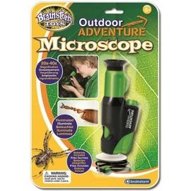 Przenośny mikroskop z oświetleniem Brainstorm