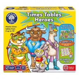 Bohaterowie tabliczki mnożenia - time table heros OrchardToys
