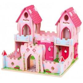 Drewniany Zamek Księżniczki Bigjigs