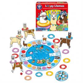 Wesołe lamy i kółka - loopy Llamas Orchard Toys