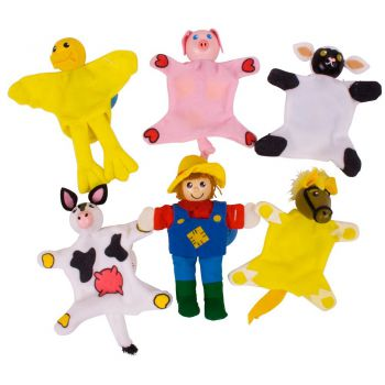 Finger Puppets - Farm