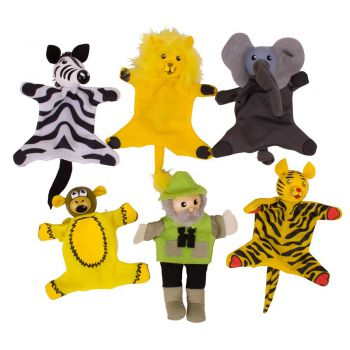 Finger Puppets - Safari