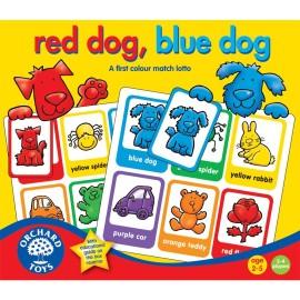 Czerwony pies, niebieski pies?