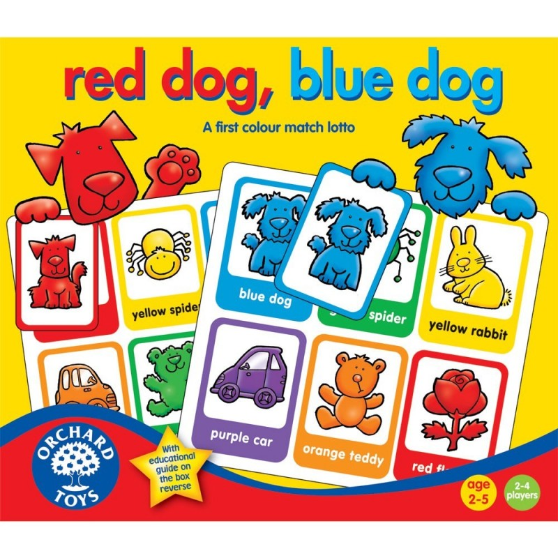 Red Dog, Blue Dog Lotto Game