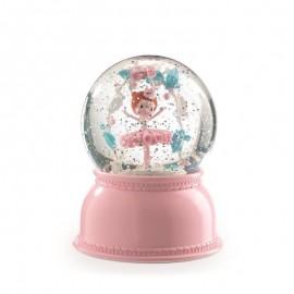 Lampka kula śnieżna Balerina Djeco