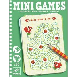 Labirynty, łamigłówki mini gra podróżna, Djeco
