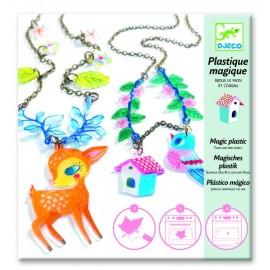 Magiczna biżuteria Jelonek i ptaszek, Djeco