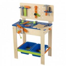Drewniany warsztat -dla dzieci z narzędziami, Kidkraft