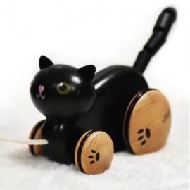 Drewniany kotek do ciągnięcia, Classic World