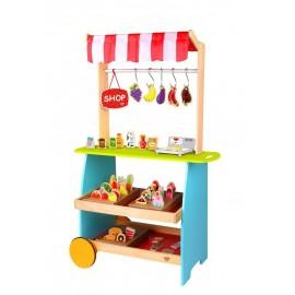 Drewniany sklep, stragan z akcesoriami Tooky Toy