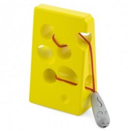 Przeplatanka, labirynt żółty ser dla myszki Viga