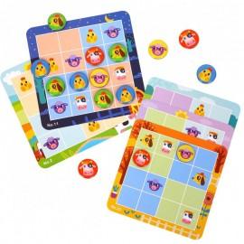 Magnetyczne sudoku farma dla najmłodszcych, Tooky Toy