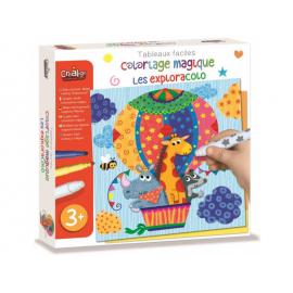PODRÓŻE magiczne kolorowanki zestaw kreatywny - Crea Lign'