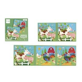Puzzle magnetyczne farma -książka podróżna, Scratch