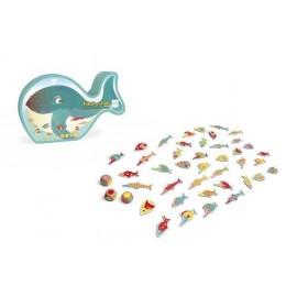 Gra - znajdź kolorową rybkę, Scratch