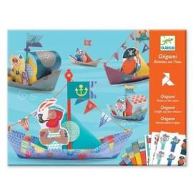 Origami dla dzieci - łódki, Djeco