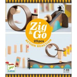 Zestaw Zig & Go - 25 elementów, Djeco