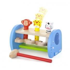 Przybijanka, skaczące zwierzątka - Viga Toys