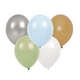 Balony niebieski zestaw 10szt.