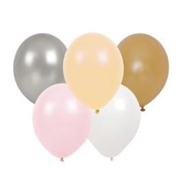 Balony różowy zestaw 10szt.