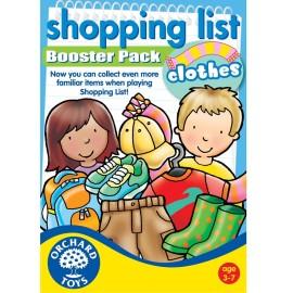 Lista zakupów ubrania