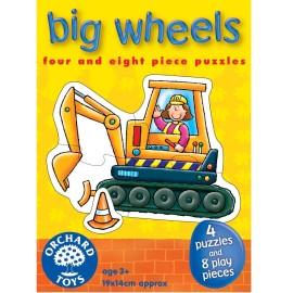 Duże Pojazdy - Puzzle