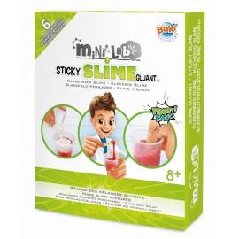 Mini Lab- produkcja slime glutów, Buki