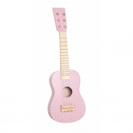 Drewniana gitara różowa Jabadabado