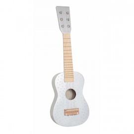 Drewniana gitara srebrna Jabadabado
