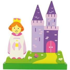 Magnetyczne puzzle - księżniczka
