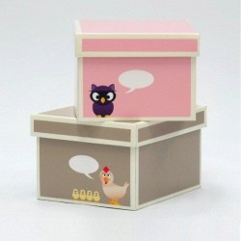 Duże pudełka Krooom z tektury