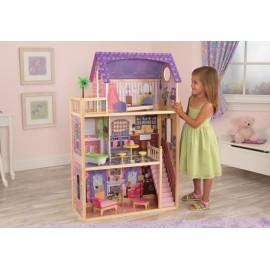 Kayla drewniany domek dla lalek Kidkraft