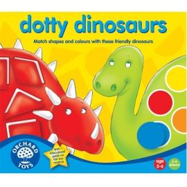 Wesołe dinozaury - dotty dinosaurs