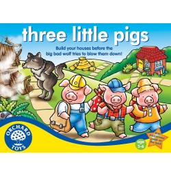 Trzy małe świnki - three little pigs