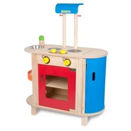 Romantyczna kuchnia Prairie Kidkraft  drewniane kuchnie dla dzieci zabawki   -> Kuchnia Drewniana Krakpol
