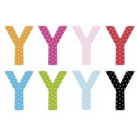Litera Y - dekoracja na ścianę