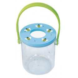 Pojemnik na owady z lupą niebieskie pszczoły