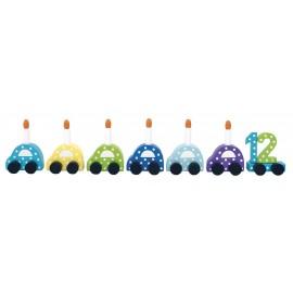 Pociąg urodzinowy auta