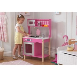 Słodka różowa kuchnia z akcesoriami Kidkraft