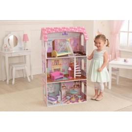 Pastelowy domek dla lalek Penelope