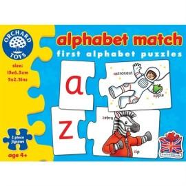 Dopasuj litery - alphabet match