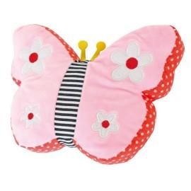 Poduszka z grzechotką motyl Jabadabado