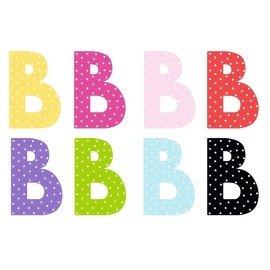 Litera B - dekoracja na ścianę