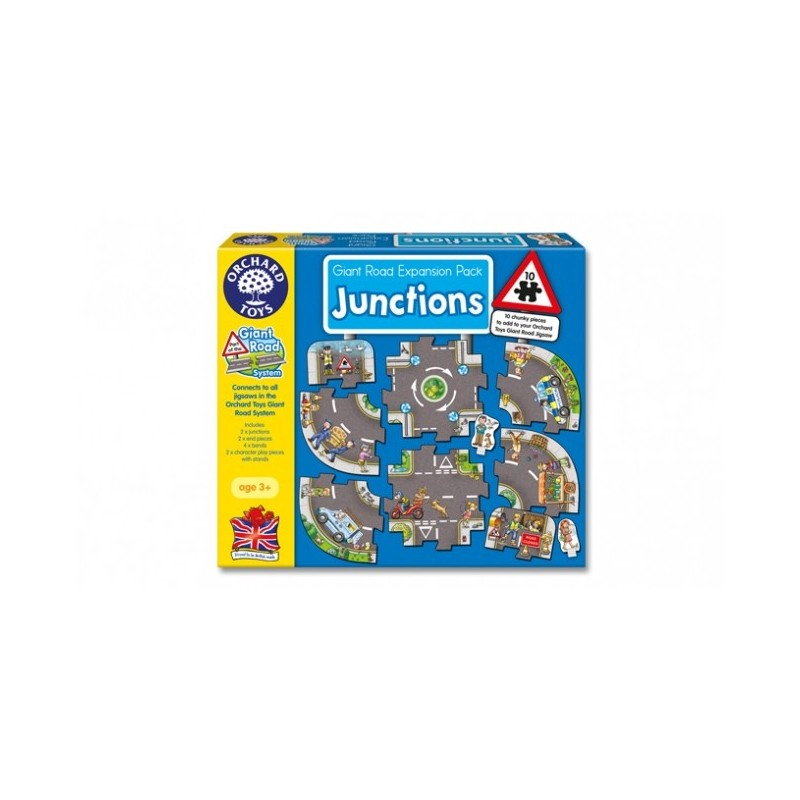 Giant Roadway Expansion Set - Junctions