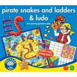 Węże i drabiny wersja piracka- Pirate snakes and ludo